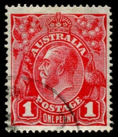 Lot 238 [1 of 2]:1d - 2d Specialised Collection on annotated pages with many mint and used listed varieties including, on 1d Red Saddle on Emu, Roo's tongue out, Secret Mark, NY joined also 6 examples of Tin Shed flaws, 1d Green Ash Imprint block of 4, 6 other **/* blocks, listed varieties incl PENAVY, Saddle on emu, Run N retouch, NY joined, 1½d Red varieties incl, Flaw on neck, Dot on head, Dot middle of head, 2d Red, Emu with medal, Double LIA of AUSTRALIA, Flaws 'S' of AUSTRALIA, large cat value, well worth inspecting. (62)