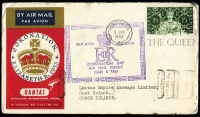 Lot 1348 [3 of 4]:1950s-2000s Collection of predominately covers and general correspondence to and from Cocos, decimal issues, CTO minisheet, etc, other material from Australia and New Zealand. (100+)