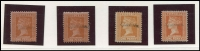 Lot 1940 [4 of 6]:Valuable Collection of Specimen Overprints in upper or lower case, mostly between McCredie Types #20-24 including 1884-96 'Stamp Duty' 1d, 1/6d (2), 3/- (2), 4/- (3), 5/- (3), 10/-, 15/- and £1, 1884-92 2/6d x3, 1885-95 Naish printings 3d (2), 4d, 8d (3), 1/-, 2/-, 1885 3d yellow-orange 'STAMP DUTY' opt, 1886-96 ½d, 1d green (2), 1d brown shades (4), 2d (4) (one Natal type), 2½d (3), 4d (3), 5d (2), 6d (3), 9d (2), 1/- (4 ), 1/6d orange, generally fine. Wonderful opportunity to acquire a collection of considerable substance. (55)