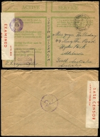 Lot 887 [4 of 12]:Inward Mail to WA mainly to Swanbourne with various 'Opened by Censor', 'Passed by Censor' and 'Department of The Army/Concession Postal Rate' handstamps, Post Office markings incl: FPO 0136 x2, 019, APO AW1 and MPO Bonegilla, Murchison & Caulfield. A very nice range of covers. (12)