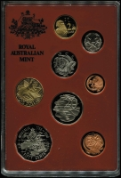 Lot 1024 [2 of 2]:Australia: 1988 Proof set issued by RAM for The Australian International Coin Fair 1988, with overprint on cover. Only 3,000 sets issued.