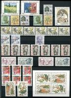 Lot 1530 [3 of 6]:1993-2019 Collection in Lighthouse stockbook, some duplication of these well produced and colourful stamps, mostly single, with some blocks and Mini Sheets. (100s)