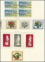 Lot 1430 [5 of 6]:1949-88 Collection in Schaubek album, incomplete, good basis for expansion. Cat £700+. (100s)