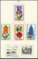 Lot 1430 [6 of 6]:1949-88 Collection in Schaubek album, incomplete, good basis for expansion. Cat £700+. (100s)