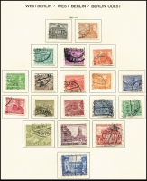Lot 1430 [1 of 6]:1949-88 Collection in Schaubek album, incomplete, good basis for expansion. Cat £700+. (100s)