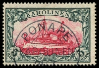 Lot 1576 [1 of 3]:Collection on Hagner including 1899 48º 20pf ultramarine, 56º set 3pf to 50pf, 1901-10 Yacht No Watermark set 3pf to 5m, with duplication including additional 1m and 5m, mostly fine, few on piece. Cat. £2,400+. (28)
