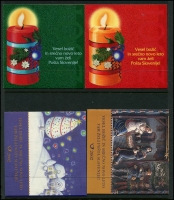 Lot 1834 [4 of 7]:1990s-2000s Booklets unduplicated range incl 1997 Christmas, 1998 Stamp Day plus Slovenia Booklets x17 a few covers and post cards. Cat £500+. (43 booklets)
