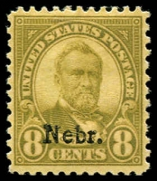 Lot 1871 [1 of 10]:1923-47 Collection mostly complete, includes: 'Nebraska' ovpts 1c to 10c (MUH/MLH set of 11), various Airmails, special delivery, coils, perf variations, Roosevelt 1c & 3c marginal blocks plus more. Great value at estimate. (200+)