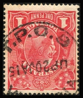 Lot 1366:T.P.O. 9: 'T.P.O. 9/UP20JA15/VICTOR
