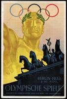 Lot 1417 [2 of 2]:1930s Olympic Photos: A collection of coloured and monochrome cards issued for the 1936 Summer and Winter games held in Germany. The cards are grouped and individually numbered showing competitors and events held at both Olympics. The cards are in very fine condition and show a wide range of events and competitors, not just purely devoted to German participation. A great lot for any Olympics or sport collector. (100+)