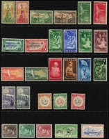 Lot 1781 [2 of 9]:1929-2015 Complete Health Collection mainly MUH, Smiling Boys MLH. A fresh clean collection on Hagners.