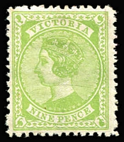 Lot 333 [1 of 3]:1871-1909 Superb selection of mostly mint issues from the early period right through to the 1901 5/- bi-colour issue. Includes a mint SG 322 1886 1/6 QV standing, 1/6d pale blue Stamp Duty CV £180. 1892 mint SG 319 9d QV apple-green issue. The selection includes many issues with shades. (75)
