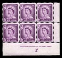 Lot 3311:1955-59 Redrawn QEII Definitives SG #750