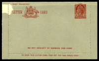 Lot 600:1953-54 3½d Red QEII Admonition on Red Panel BW #LC77