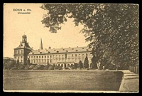 Lot 100:Germany: Kunstanstalt sepia PPC of 'BONN a. Rh./Universität'.