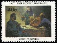 Lot 48 [3 of 4]:Australia - Hutt River Province: 1975 Chapel Paintings, set of 4