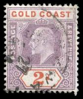 Lot 11098:1902 Wmk Crown CA SG #40 2d dull purple & orange-red.