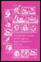 Lot 17:Australia: The Definitive Stamps of the Reign of Queen Elizabeth II 1952-1965