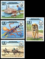 Lot 16161:1985 International Youth Year SG #1108-11 set of 4.