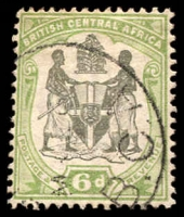 Lot 2692:1897-1900 Arms Wmk Crown/CA SG #46