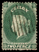 Lot 2738:1863-66 Wmk Crown/CC (Oval) Perf 12½ SG #50