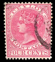 Lot 2740:1883-98 Wmk Crown/CA Perf 14 SG #149