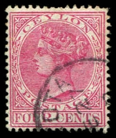 Lot 2742:1893-99 QV Wmk Crown/CA SG #246