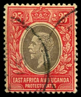 Lot 2805:1912-21 KGV Wmk Mult Crown/CA SG #50a