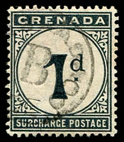 Lot 3132 [3 of 3]:1892 Wmk Crown/CA SG #D1-2,10