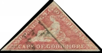 Lot 3517:1863-64 DLR Triangles SG #18c