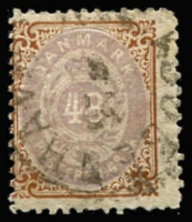 Lot 2799:1870-74 Bi-Colours Perf 12½ SG #37