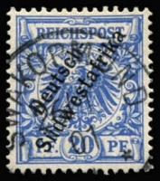 Lot 3493 [2 of 4]:1898-99 'Südwestafrika' No Hyphen Mi #6-8,10