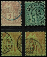 Lot 2957 [2 of 2]:1881-86 Commerce: SG #46-53 range