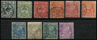 Lot 3028 [2 of 2]:1922-28 Bird & Huts New Colours & Values SG #112-22,131