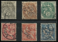 Lot 2961 [2 of 2]:1902-21 Issues SG #19,22,24-6,29,32