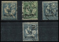 Lot 2962 [2 of 2]:1921-25 Surcharges SG #59,65-6,76-7
